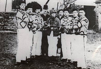 Grenoside Sword Dancers, circa 1895